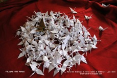 Projet les 1000 grues - Folding for Peace